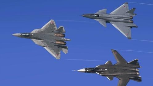 航展上出现的各种战斗机,让人赞叹不已!