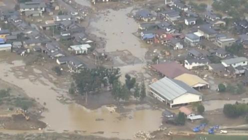 强台风肆虐日本:死亡人数增至44,仍有15人失踪