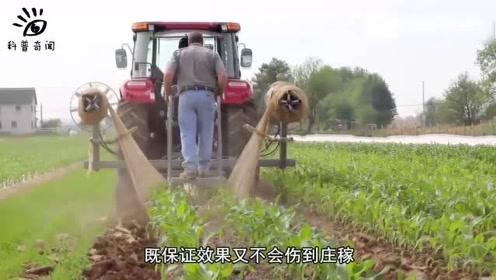 神奇的施肥除草机,只需要简单操作,就能实现农田管理