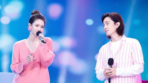 戚薇李承铉合唱《小幸运》,粉红色的小幸运,十分幸福!