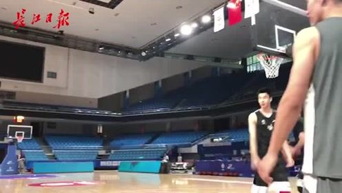 八一男篮,进驻洪山体育馆训练