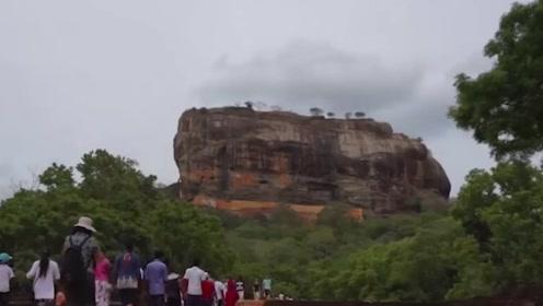 世界上最霸气的古国之一,在180米巨岩上建宫殿,岩石宛如雄狮