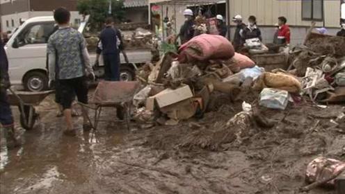 海贝思导致日本66处河堤被冲垮,台风灾害已造成61人死亡