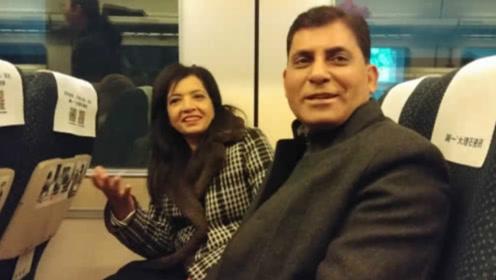 印度人第一次乘坐我国高铁,到了车站就懵了:这也太快了吧!