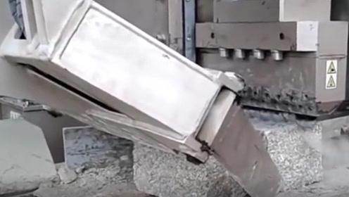 大锤碎石非常费力而且易碎 高科技让你的工作更轻松