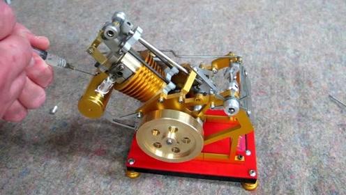 这是什么发动机?打个喷嚏就能熄火,启动方式更是神操作