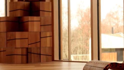 用木棍也能变成的椅子,设计师的脑洞不是一般的大,看成品惊讶了