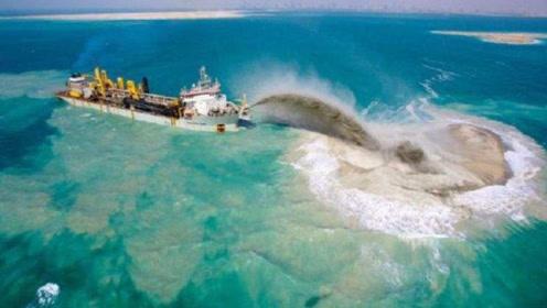 越南模仿中国填海造岛,5年造了0.24平方公里,却被台风给吹没了