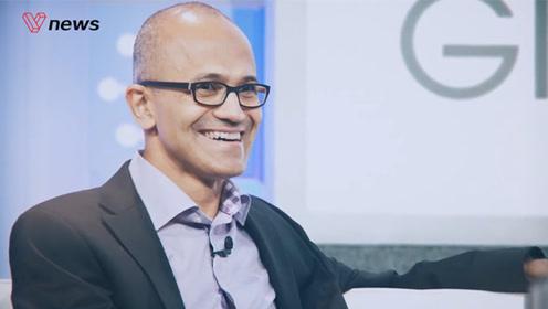 微软市值复兴下,给CEO纳德拉加薪66%