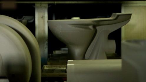 想知道马桶是怎么制造出来的吗?居然要在1200度的窑炉里待17小时!