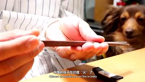 印度留学生学会使用中国筷子,感慨中国人太聪明了