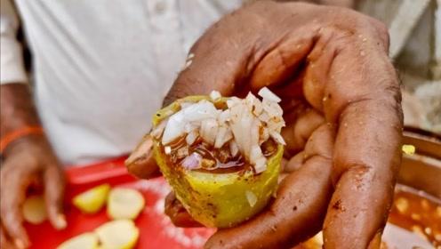 实拍印度人做土豆,工序比想象的精细很多,网友:看得我胃里翻江倒海