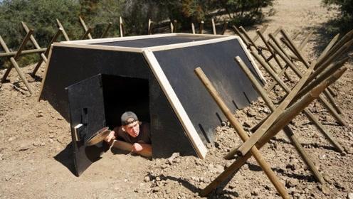 碉堡的内部结构有多复杂?跟着镜头眼见为实!