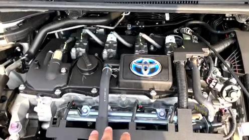 抢鲜看:丰田卡罗拉1.8L双擎版发动机,布局紧凑,电机介入更节能