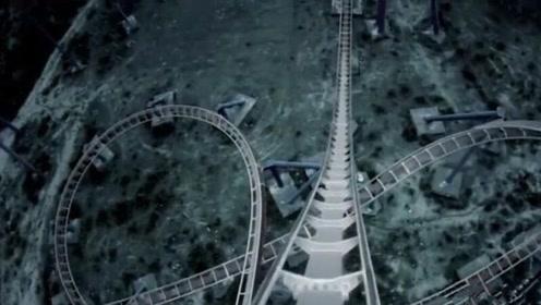 世界首个安乐死过山车,487米超快速降,想自杀的都放弃了!