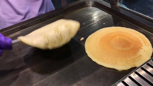 台湾街头美食港式薄饼,仅需两步制作完成,简单却很美味!