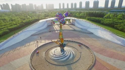 哈尔滨:公园拆墙  还绿于民