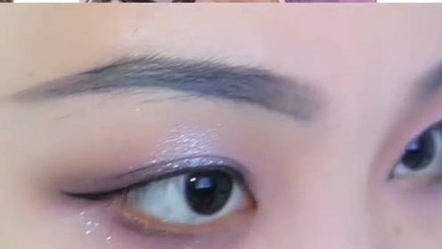 虞紫鸢衍生眼妆,帅气冷漠,攻气十足!