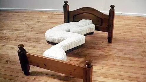 """世界上最""""另类""""的3张床,没点""""功夫""""还真不敢睡,网友:会玩"""
