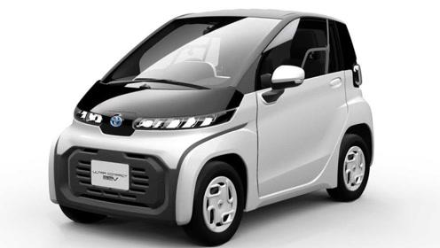丰田发布两款全新电动车官图:东京车展首发亮相
