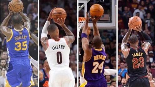 这四位大心脏球员 你会选谁投最后一球