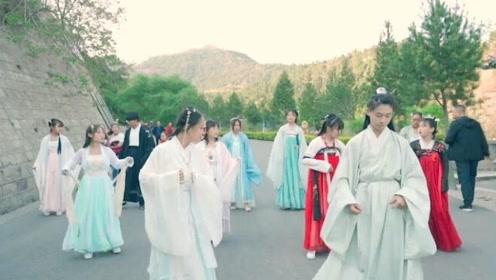 我国唯一穿汉服才能进去的景区,走进去像穿越回古代,深受文化熏陶