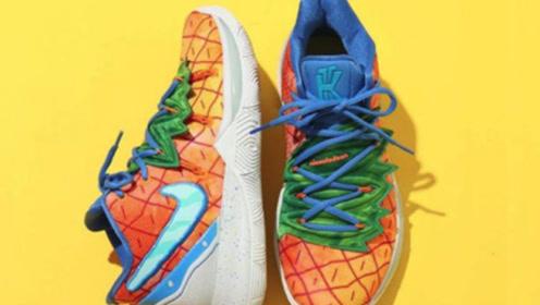 菠萝屋配色球鞋 发售日期确定 Kyrie 5 你打几分