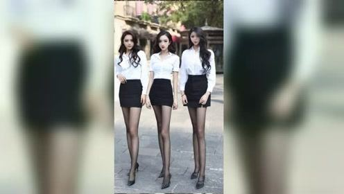从学生装到职业装,河南闺蜜团的小姐姐们真是太美了!