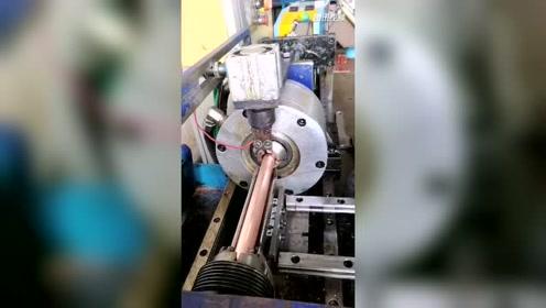 国内自主研发,波纹铜管成型机