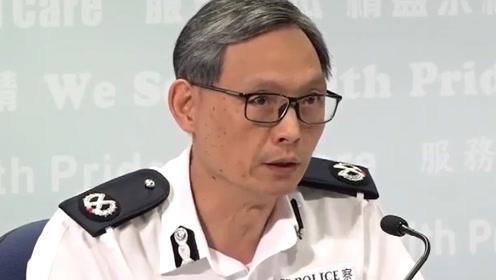 香港警方:暴徒开始使用爆炸品 20日至少接4宗怀疑爆炸物举报