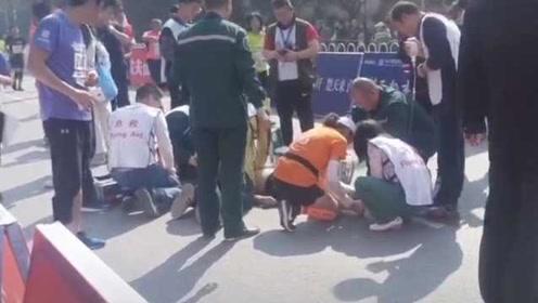 50岁长跑协会会员马拉松终点前100米猝死:另有2人同时倒地