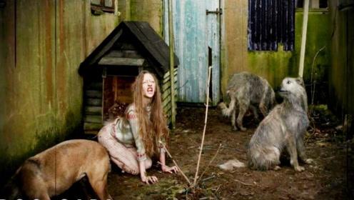 """现实版""""狗女"""",乌克兰女孩被父母丢进狗窝,太心酸了"""