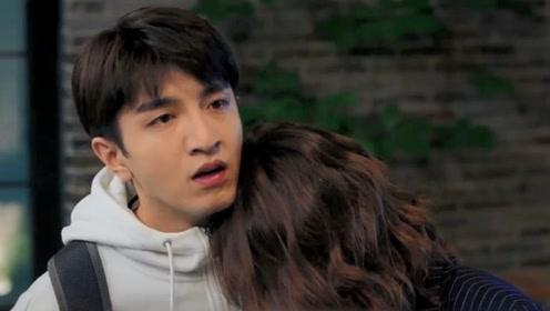 """《没有秘密的你》张孝阳和林星然""""接吻"""",江夏霸气拉过林星然"""