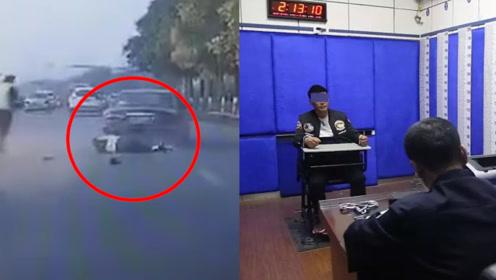 现场!鞍山一男子驾车冲撞交警逃逸后被抓 49岁交警不幸牺牲