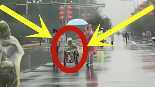 """轮椅女孩""""坐跑""""马拉松,暖心大姐""""冒雨""""陪护,成为""""作为选手""""赢得掌声"""