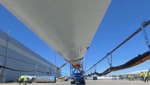 60米长风电叶片如何运输的,不是老司机,这种工作干不了!