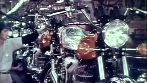 川崎并列3缸2冲程摩托车生产线上的全过程