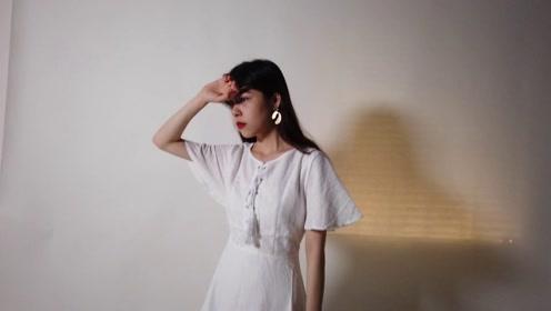 154娇小女生怎么穿出优雅,最值得入手百搭的连衣裙,女人味十足