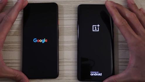 谷歌pixel4xl速度对比一加7Pro、对钢谷歌表现咋样呢