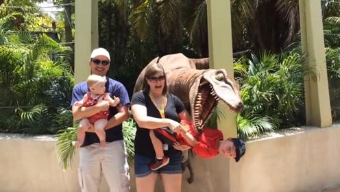 """国外网红""""真""""恐龙,日常乐趣吓游客,游客:既兴奋又害怕"""