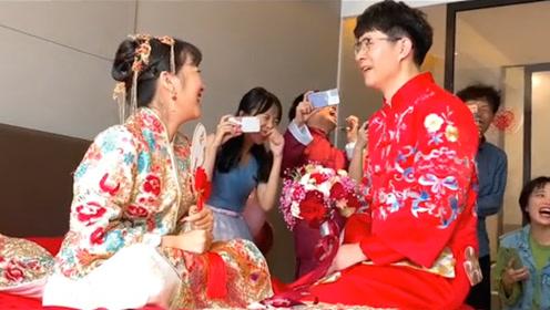 不可能好好结婚的,我们主要是来搞笑的,顺便结个婚!