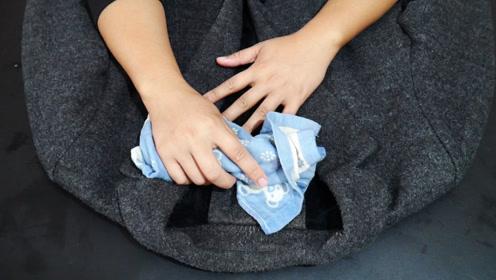 毛呢大衣不要用水洗,教你一招,不用洗衣液,比洗衣店洗的还干净