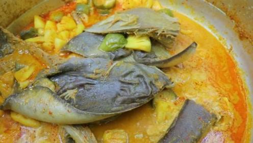 小哥竟在野外食用魔鬼鱼,味道鲜美营养高,还能治胃癌