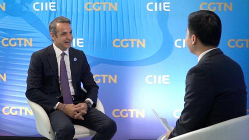 希腊总理接受中央广播电视总台专访