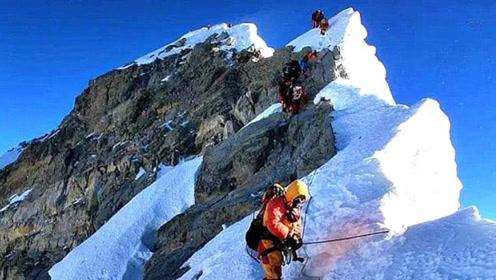 山越高越冷,那8844.43米的珠穆朗玛峰峰顶有多冷?今天长见识了