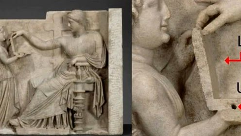 """2000年前雕像中,发现""""笔记本电脑"""",是穿越还是高级文明的产物?"""