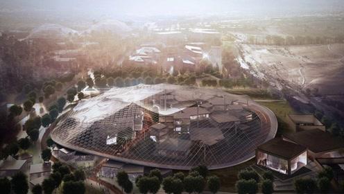 """航拍谷歌加州新园区 3倍于苹果""""太空船"""" 简直买下了一座城!"""