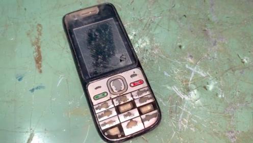 8年前买的诺基亚手机,拆开翻新一下,效果杠杠滴