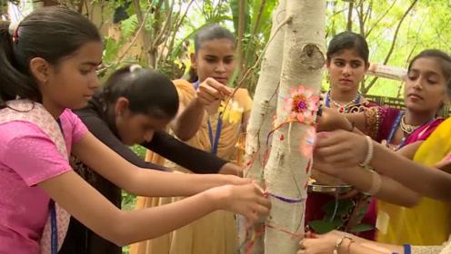印度神奇村子,每出生一位女婴就会种下111棵树,女孩地位不再卑微!