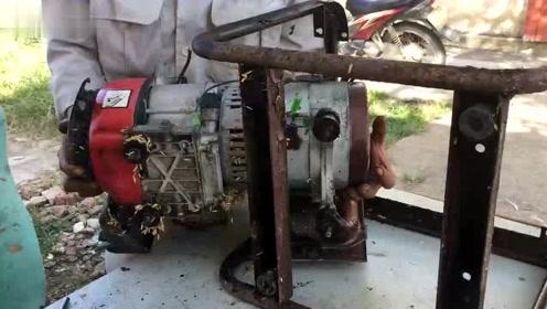 大叔挑战修复日本技术发电机,拆完之后却无语了,完全不知道该如何下手